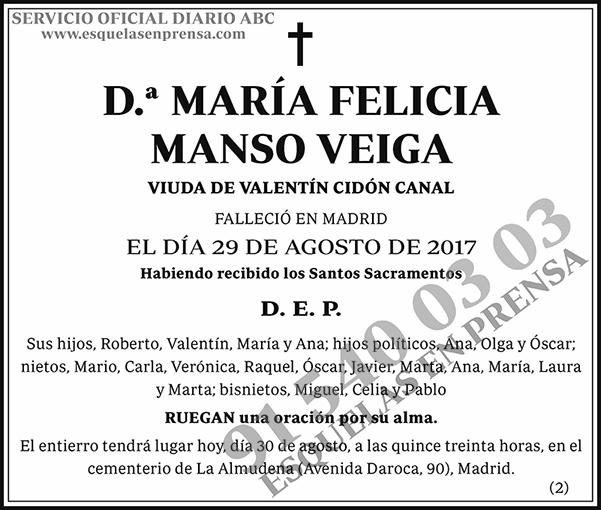 María Felicia Manso Veiga